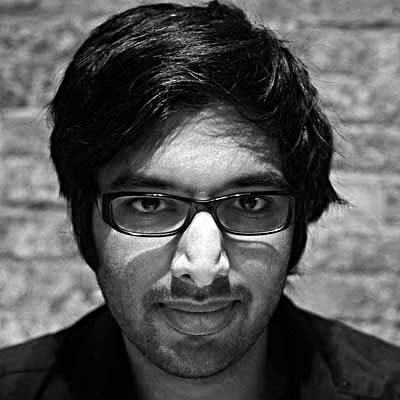 A mugshot of the author, Harish Narayanan